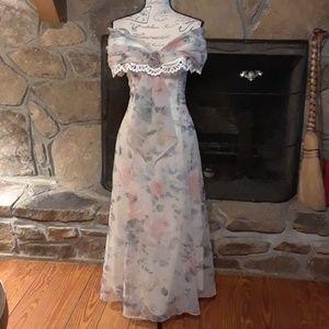 Scott McClintock vintage formal dress